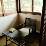 堀辰雄が宿泊した部屋