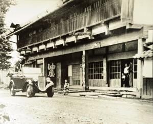 旧油屋旅館(明治時代-焼失前・写真)