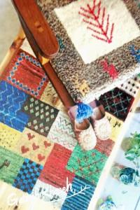 手織絨毯ギャッベ展