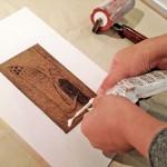 紙版を使ったメディウム剥がし刷り(講師:鈴村優/版画家)