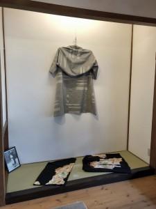 「直線をまとう」〜きもの再生Re-Kimono〜