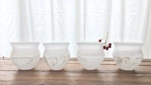 山田春美ガラス展「白露の庭に」