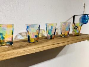 山崎友香 ガラス展-色彩-